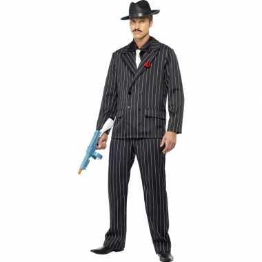 Al capone foute kleding zwart voor heren
