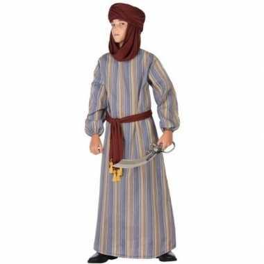 Arabische strijder ali foute kleding/gewaad voor jongens