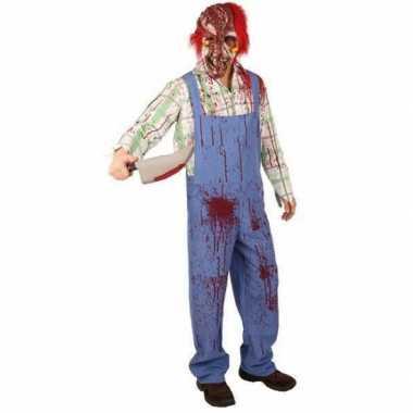 Bebloed zombie foute kleding