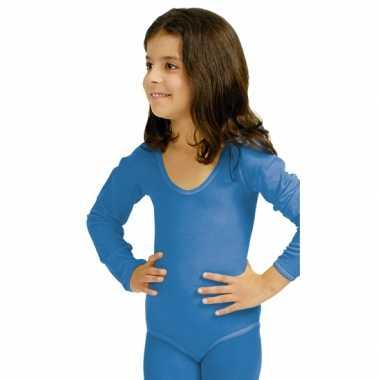Blauwe kinder ballet foute kleding