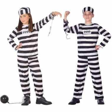 Boef/boeven pak/foute kleding voor kinderen