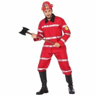 Brandweerman foute kleding voor heren