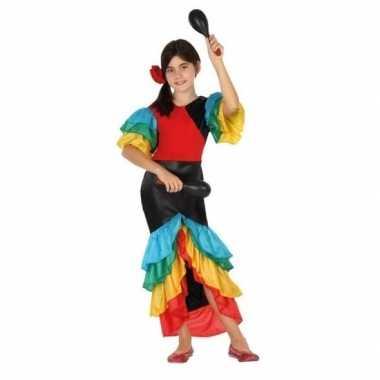 Braziliaanse samba/rumba danseres foute kledingvoor meisjes