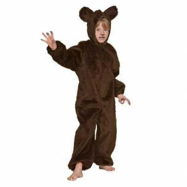 Bruin beren foute kleding voor kinderen