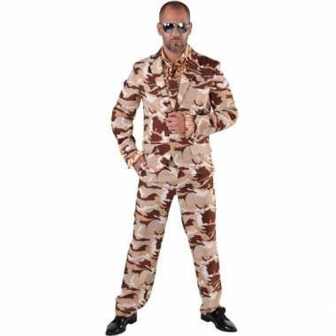 Camouflage foute kleding 3 delig voor heren