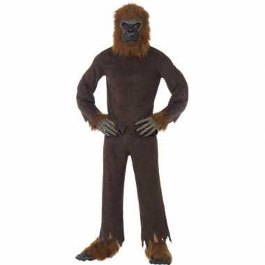 Canrvals foute kleding bruine aap