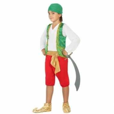 Carnaval arabiertje foute kleding jongens