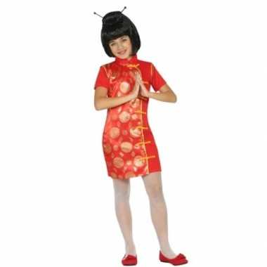 Carnaval chinees foute kleding meisjes