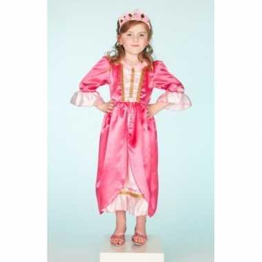 Carnaval foute kleding roze jurk voor meisjes
