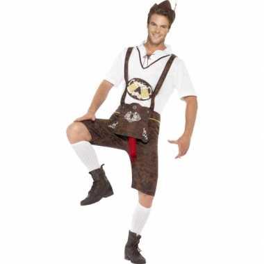 Carnaval grappig bierfeest worst foute kleding