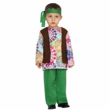Carnaval hippies foute kleding peuters