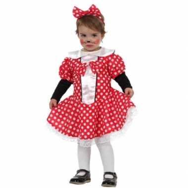 Carnaval muizen meisje foute kleding peuters