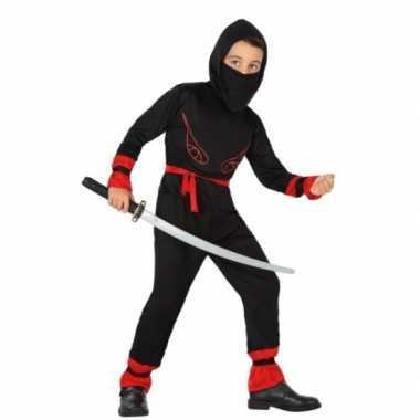 Carnaval ninja foute kleding jongens