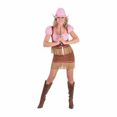 Carnavals foute kleding cowgirl dames