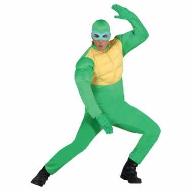 Carnavals foute kleding ninja voor heren