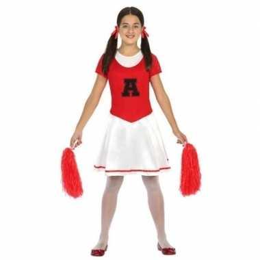 Cheerleader jurk/jurkje foute kleding voor meisjes