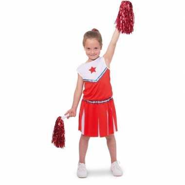 Cheerleader pakje foute kleding voor meisjes