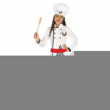 Chef kok foute kleding/jurk voor meisjes