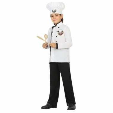 Chef kok foute kleding voor jongens