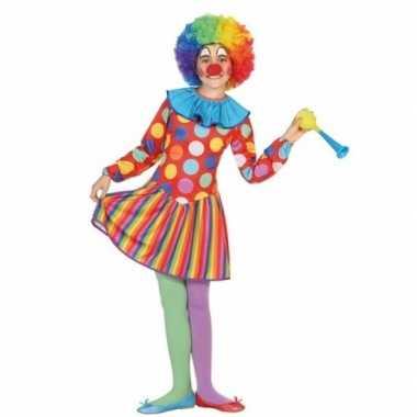 Clown dotty foute kleding voor meisjes