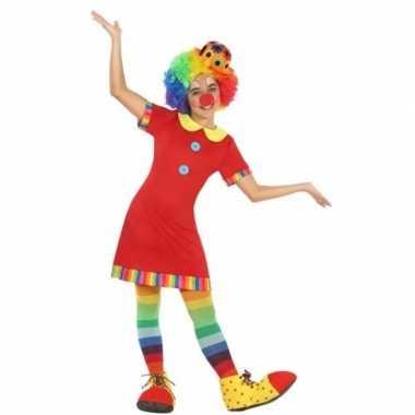 Clown floppy foute kleding voor meisjes