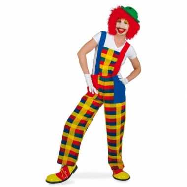 Clown pebbi foute kleding voor volwassenen