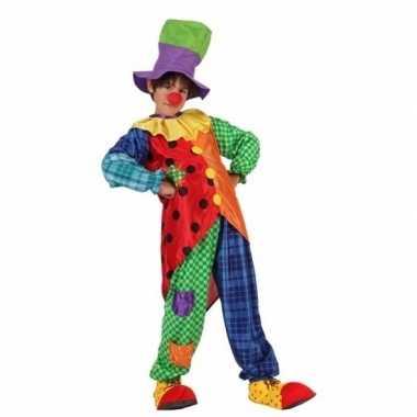 Clown stitches foute kleding voor jongens