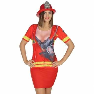 Compleet brandweer foute kleding voor dames