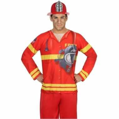 Compleet brandweer foute kleding voor heren