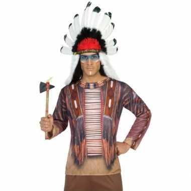 Compleet indiaan foute kleding voor heren