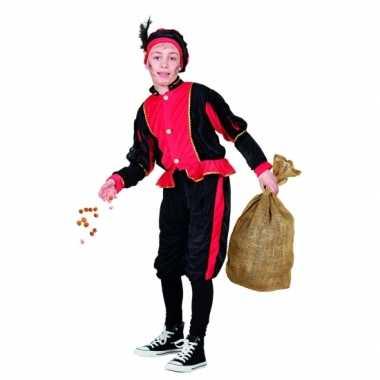 Compleet rood pieten foute kleding voor kinderen