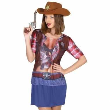 Compleet sheriff foute kleding voor dames