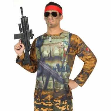 Compleet soldaat foute kleding voor heren