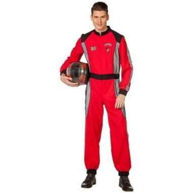 Coureur foute kleding rood voor heren