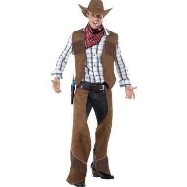 Cowboy foute kleding voor heren