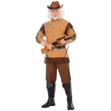 Cowboy/western foute kleding wild bill voor heren