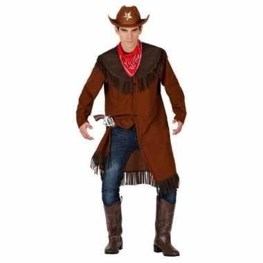 Cowboy/western jas foute kleding voor heren