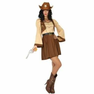 Cowgirl/cowboy cassidy foute kleding/jurk voor dames
