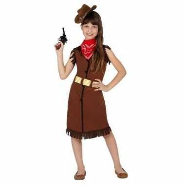 Cowgirl cowboy foute kleding jurk voor meisjes