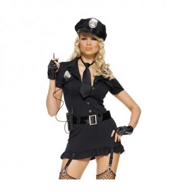 Dames foute kleding set sexy politie