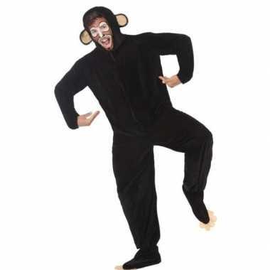 Dierenpak apen/chimpansee foute kleding voor volwassenen