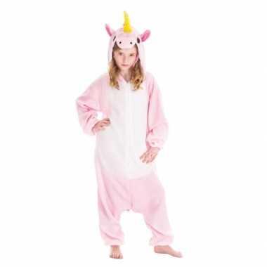 Dierenpak eenhoorn pinky onesie foute kleding voor kinderen