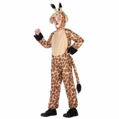 Dierenpak foute kleding giraffe voor kinderen