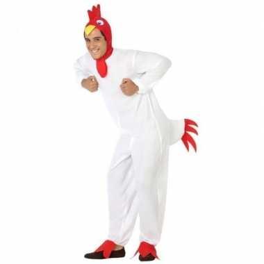 Dierenpak foute kleding kip/haan voor volwassenen