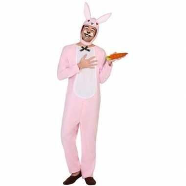 Dierenpak foute kleding paashaas/konijn voor volwassenen