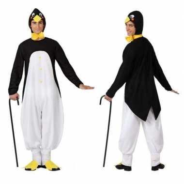 Dierenpak foute kleding pinguin voor volwassenen