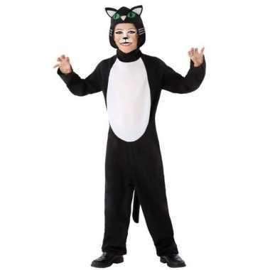Dierenpak kat/poes foute kleding voor kinderen