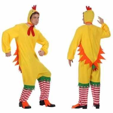 Dierenpak kip/haan/kuiken foute kleding voor volwassenen