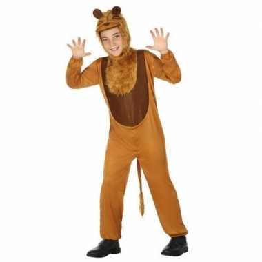 Dierenpak leeuw/leeuwen foute kleding voor kinderen