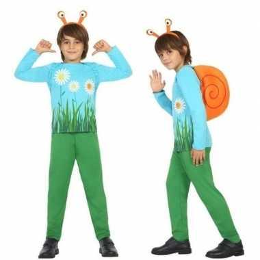 Dierenpak slak/slakken foute kleding voor jongens